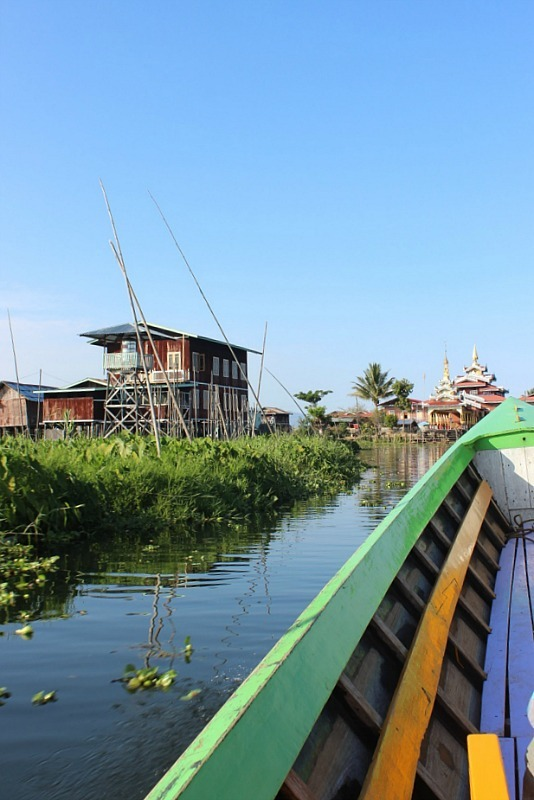 Inle Lake Boat Trip in Myanmar