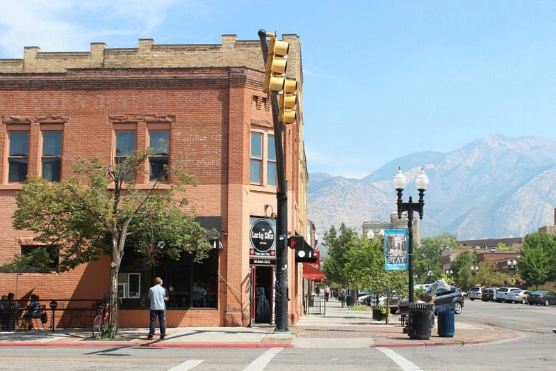 Historic 25th Street in Ogden, Utah during month 14 of digital nomad life - The World on my Necklace