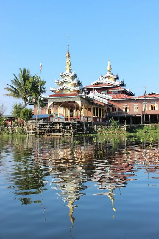 Jumping Cat Monastery on Inle Lake - one of the top Inle Lake attractions
