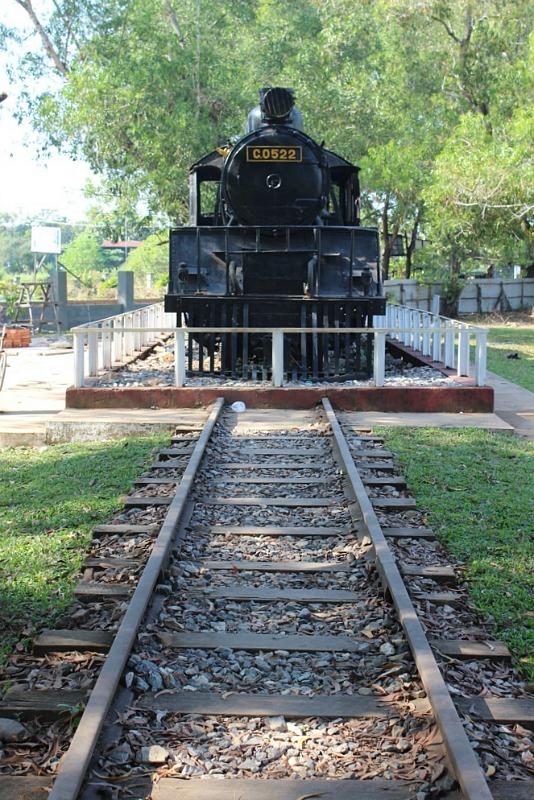 Start of Death Railway in Thanbyuzayat near Mawlamyine