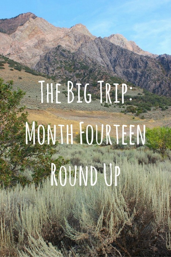 The Big Trip- Month Fourteen Round Up - The World on my Necklace
