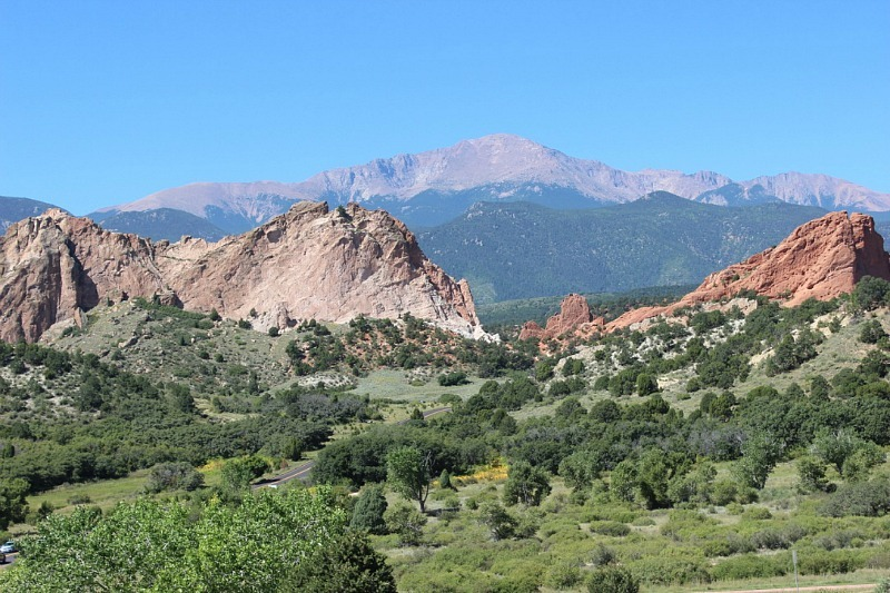 Garden of the Gods in Colorado during month 15 of digital nomad life