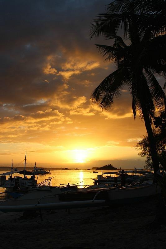 Malapascua Island sunset