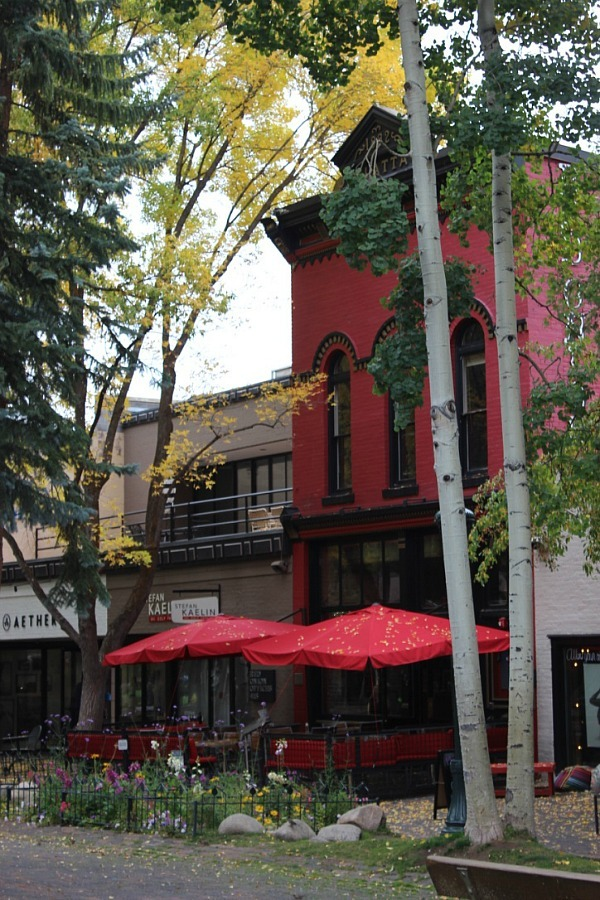 Downtown Aspen, one of the best mountain towns in Colorado