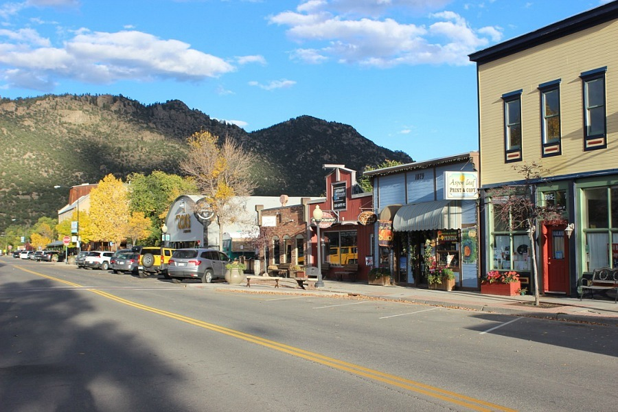 Downtown Buena Vista, one of the best mountain towns in Colorado