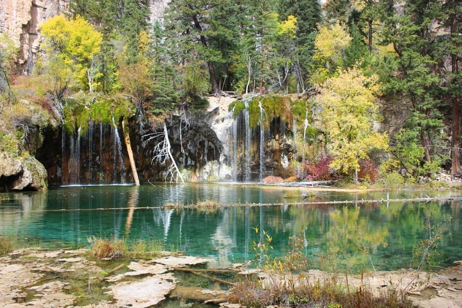 Visit Hanging Lake from Glenwood Springs, a top Colorado mountain town