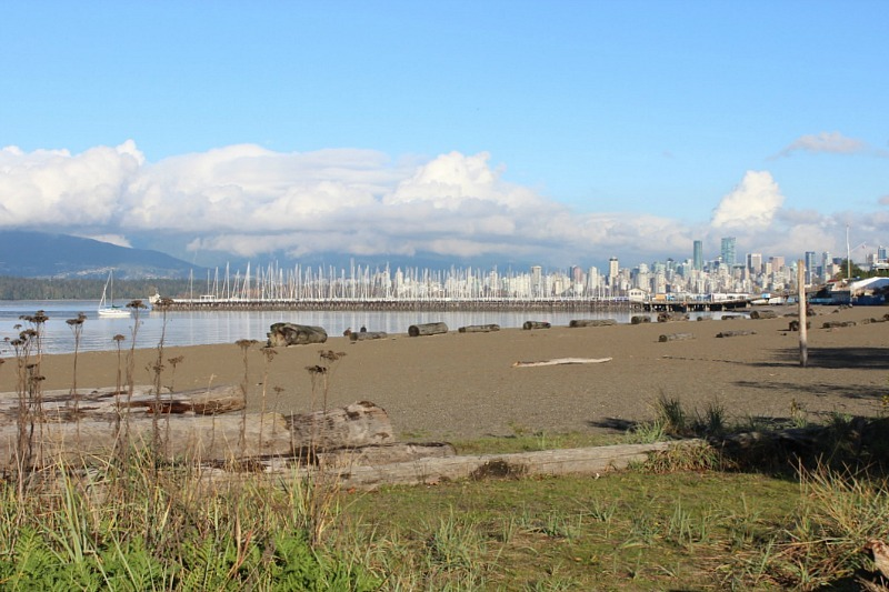 Visit Kits beaches during your 4 days in Vancouver