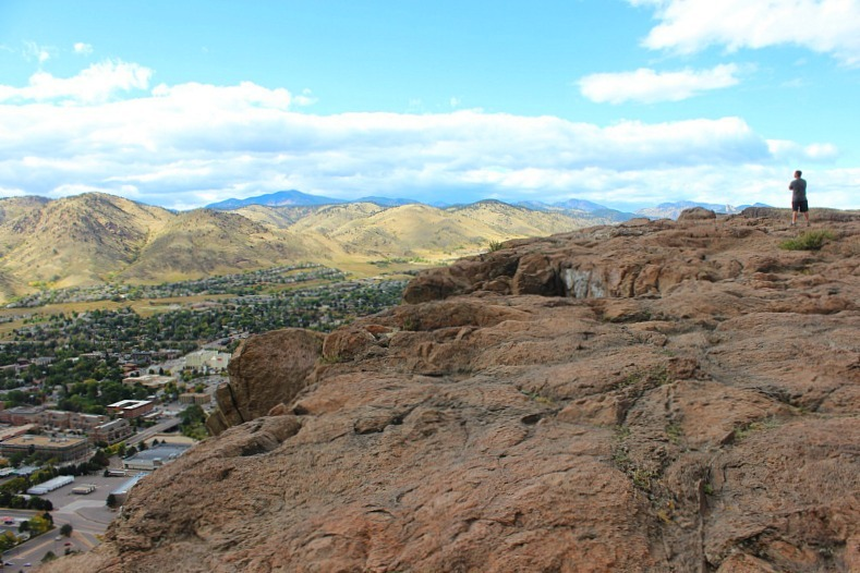 view-over-golden-colorado during month 16 of digital nomad life