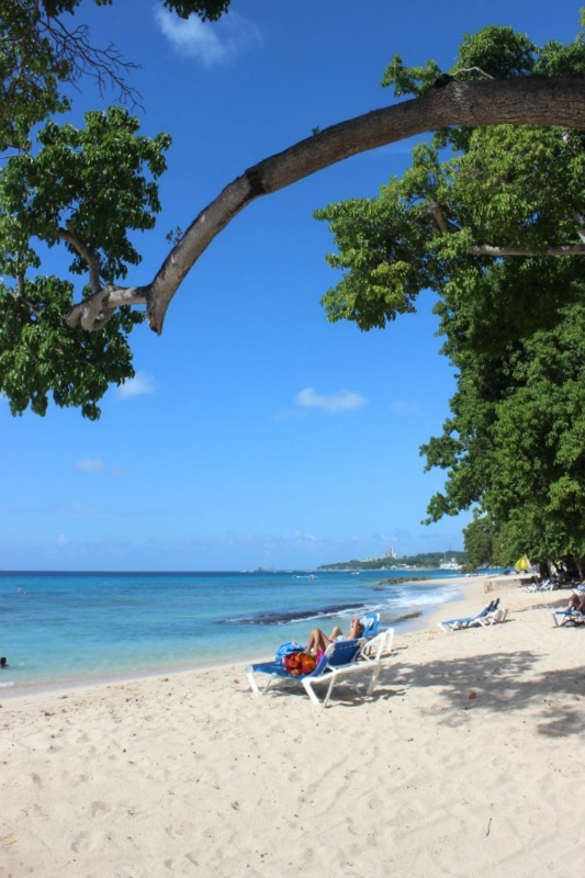 Barbados beach-bumming during month eighteen of digital nomad life