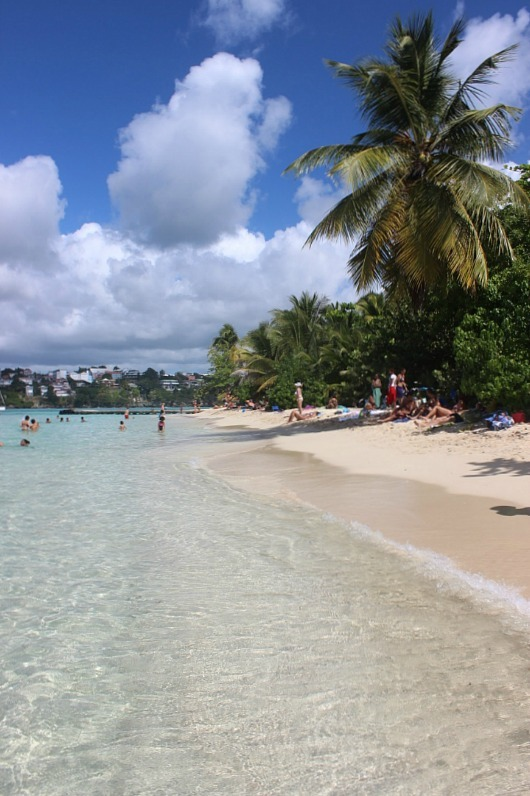 Islet Gosier off Guadeloupe - visited during month nineteen of digital nomad life