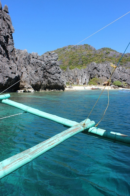 Lagoon stop on El Nido island hopping tour A