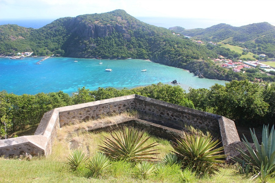 Fort Napoleon in Les Saintes, Guadeloupe - visited during month nineteen of digital nomad life