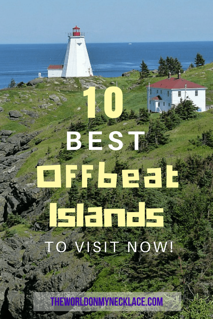 20 Best Offbeat Islands to visit