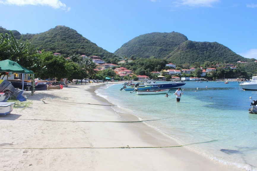 Les Saintes, one of Guadeloupe's islands in the Caribbean - one of the 10 best offbeat islands to visit
