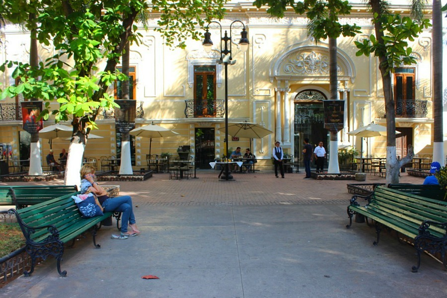 Square in Merida, Mexico - visited during month twenty of digital nomad life