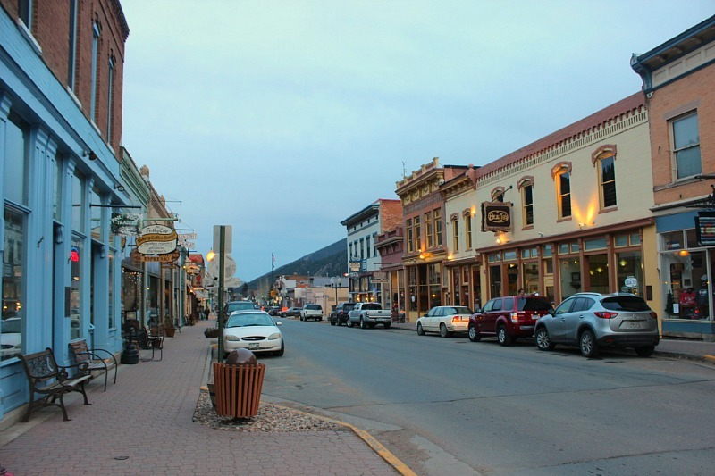 Idaho Springs in Colorado - visited during month twenty of digital nomad life
