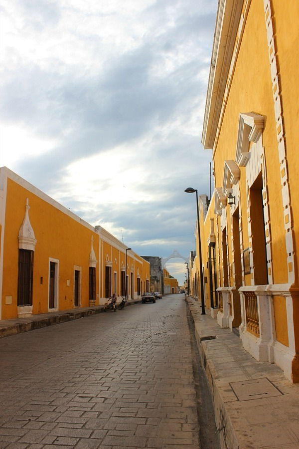 The yellow city of Izamal Mexico - visited during month twenty of digital nomad life