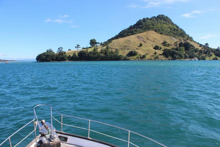 Boating in Mount Maunganui New Zealand during month twenty one of digital nomad life