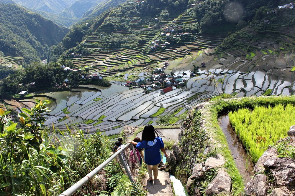 Incredible Batad rice terraces - The World on my Necklace