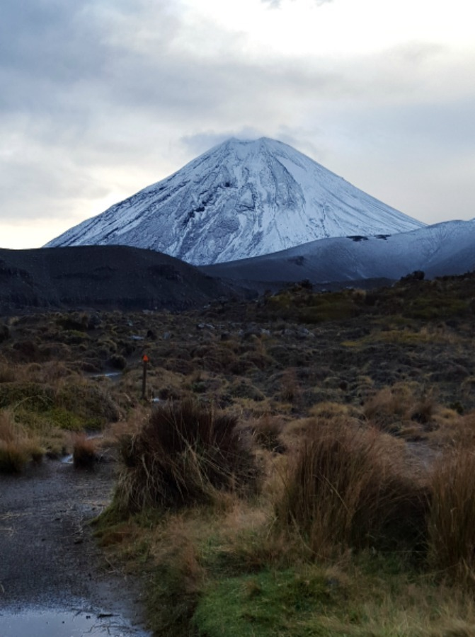 Hiking the Tongariro Northern Circuit in New Zealand during month twenty two of digital nomad life