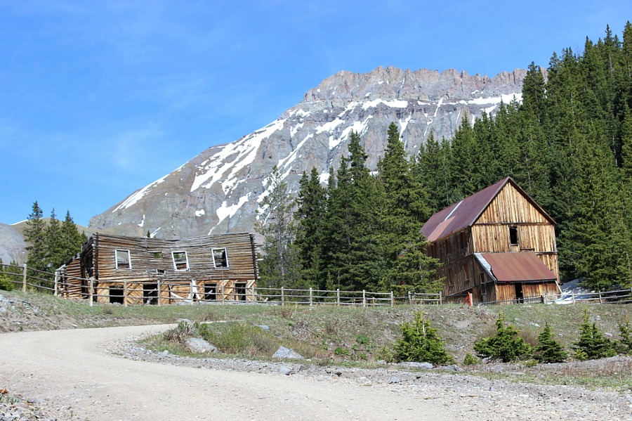 Ghost town near Telluride Colorado, the best mountain town in Colorado