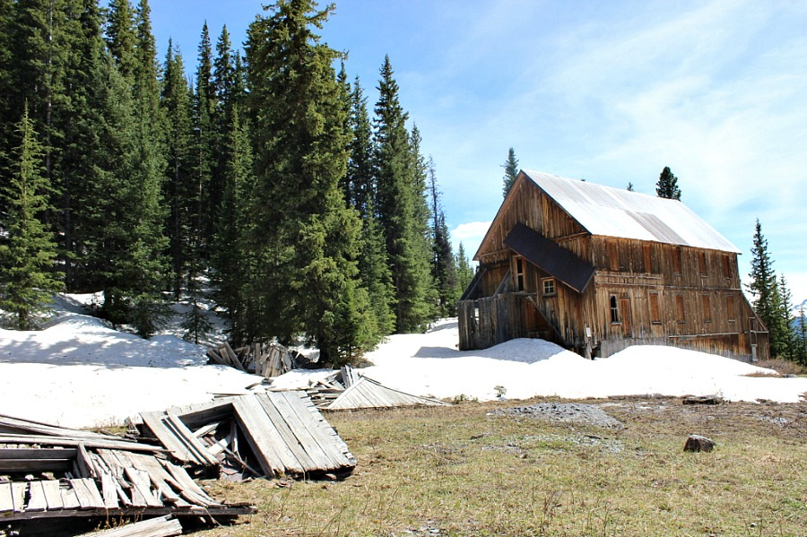 Alta Ghost town is a great day trip from Telluride, Colorado
