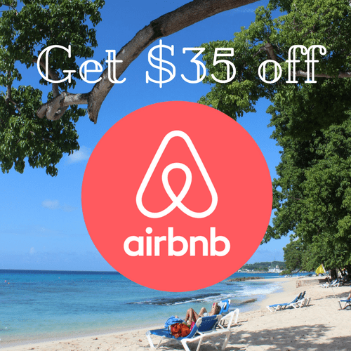 Get $35 off Airbnb