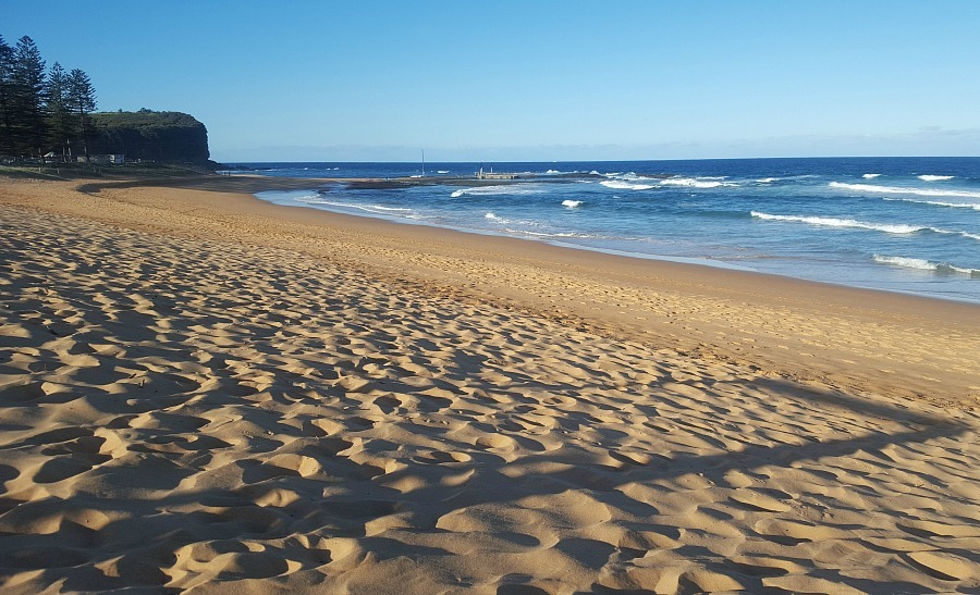 Sydney's northern beaches - visited during month twenty three of digital nomad life