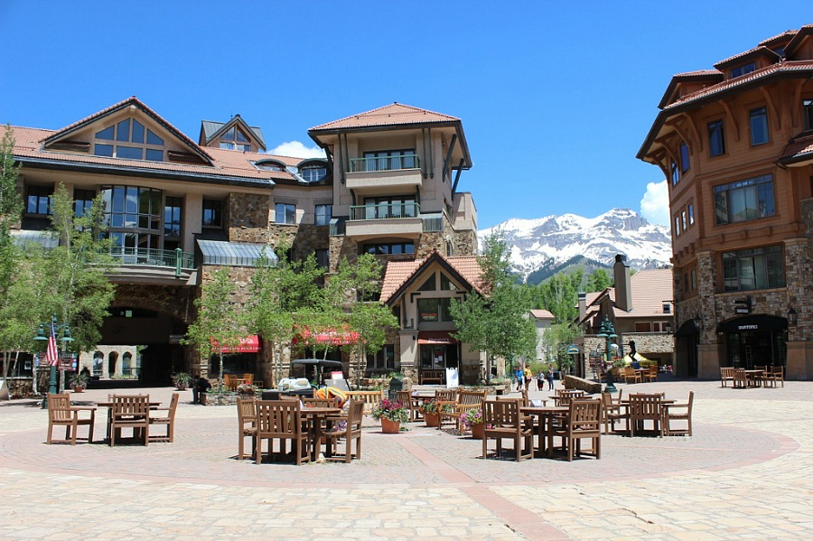 Ski Resort above Telluride Colorado, the best mountain town in Colorado
