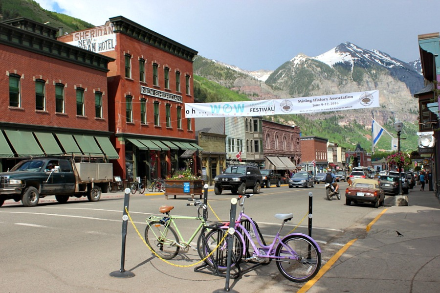 Beautiful Telluride Colorado is one of the best mountain towns in Colorado