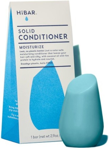 Using solid conditioner instead of in a plastic bottle is a great eco-travel tip