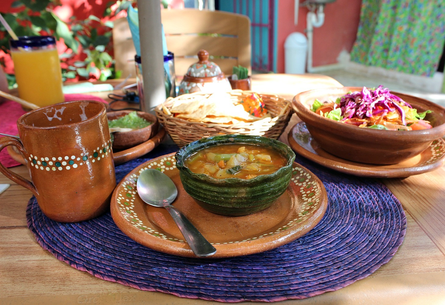 Eating more vegetarian is a great eco-travel tip