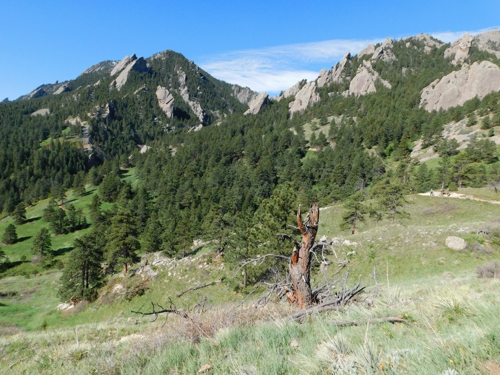 Hiking in Boulder Colorado during month twenty four of Digital Nomad Life