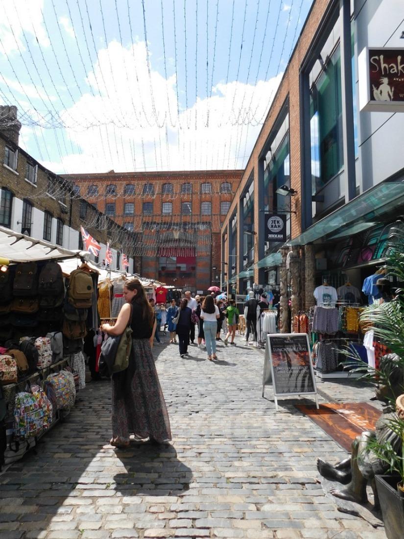 Camden Market in London
