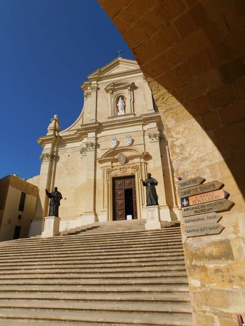 Exploring the Citadel in Victoria, Gozo's capital city, Malta