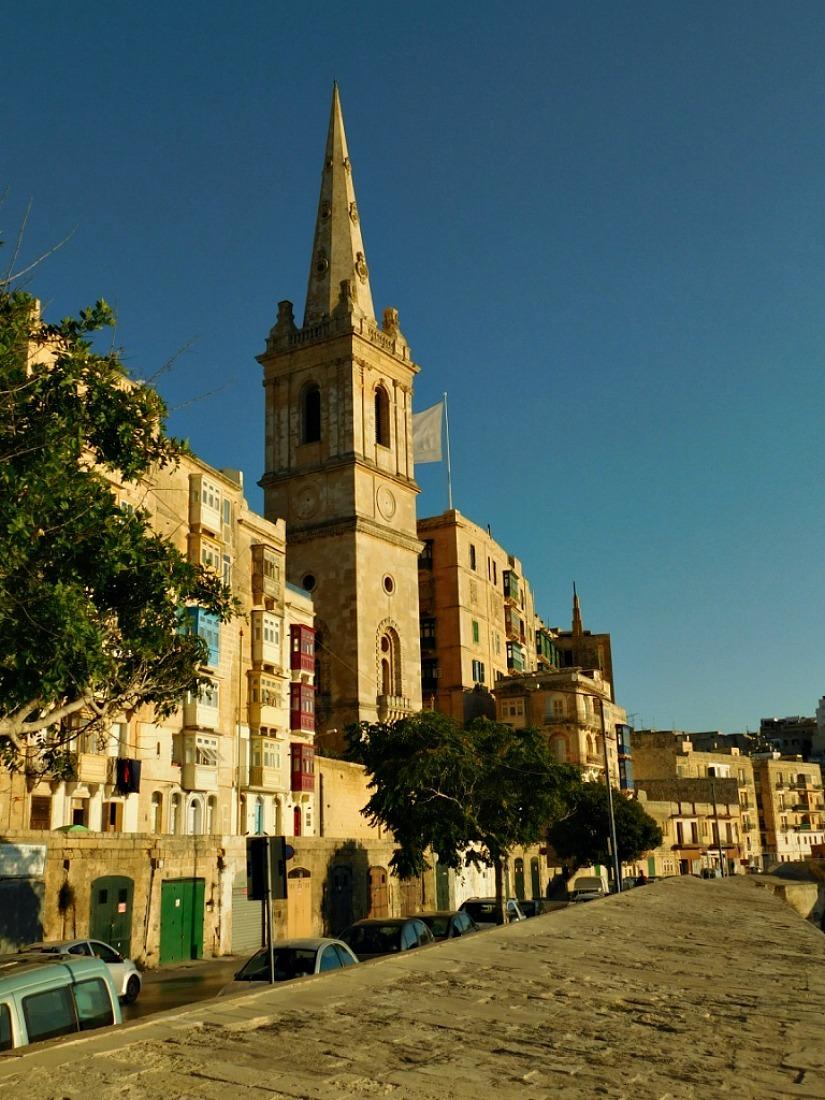 Valletta city wall views, Malta