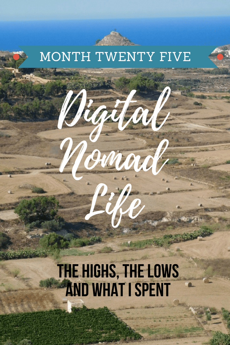 Digital Nomad Life Month Twenty Five