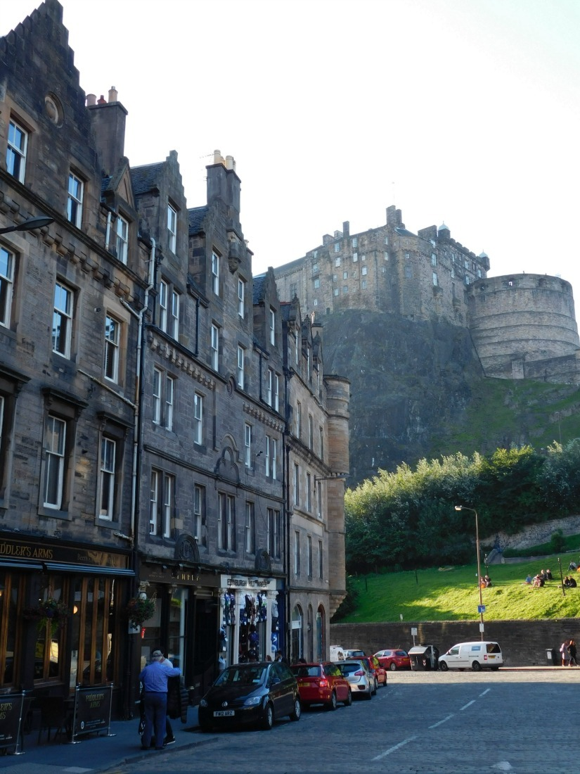 Beautiful Edinburgh - visited during Month Twenty Six of Digital Nomad Life