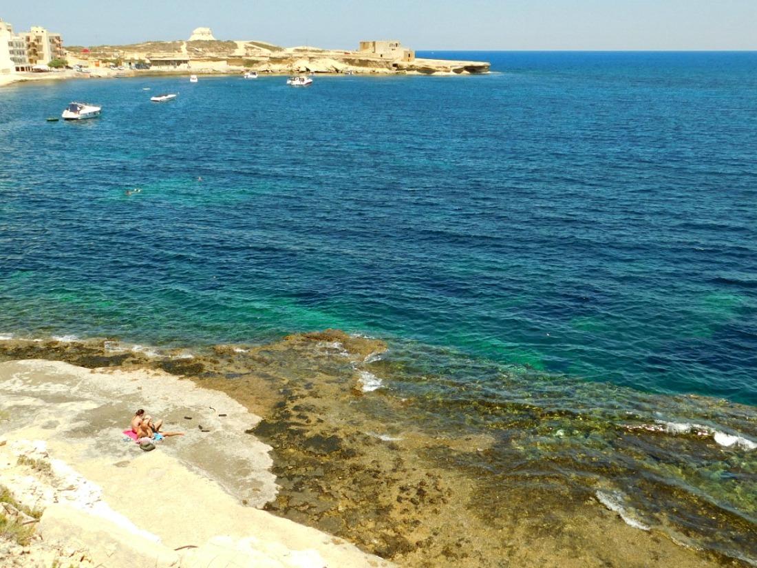 Marsalforn Coast on Gozo, Malta
