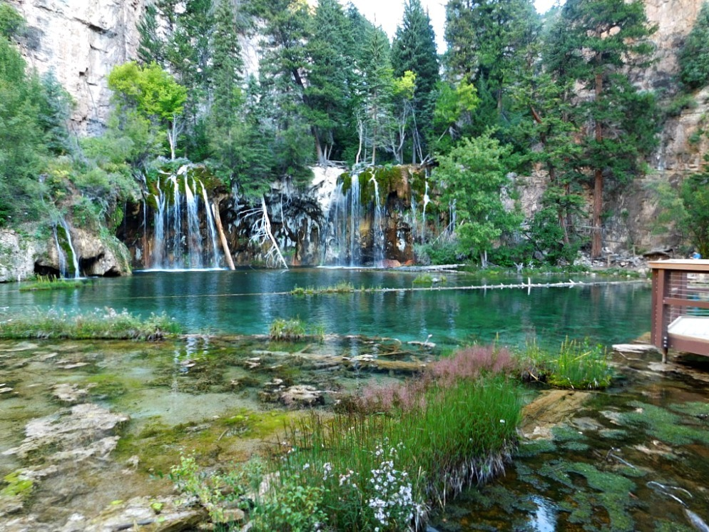 Hiking to Hanging Lake in Colorado during month twenty six of Digital Nomad Life