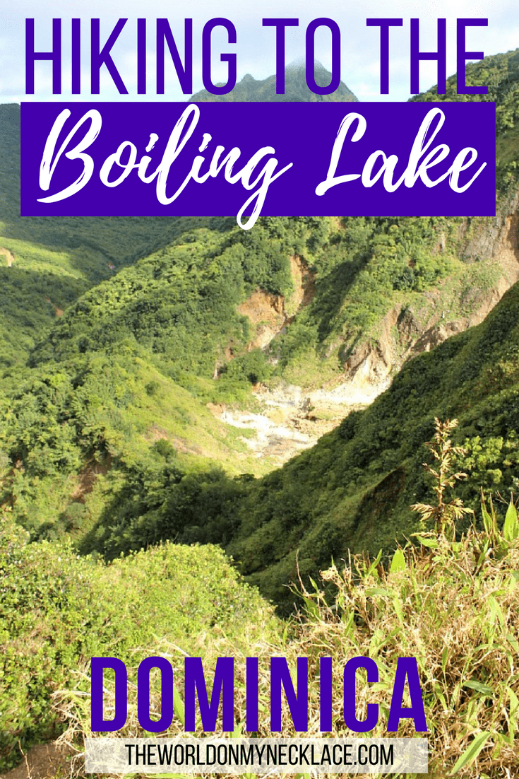 Hiking to the Boiling Lake Dominica