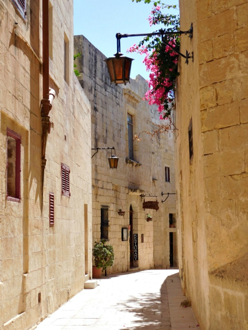 The streets of Mdina in Malta are so photogenic