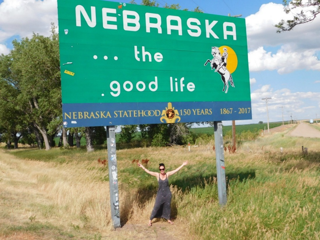 Entering my 25th US State - Nebraska