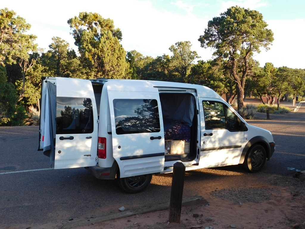 Van life during month twenty six of Digital Nomad Life