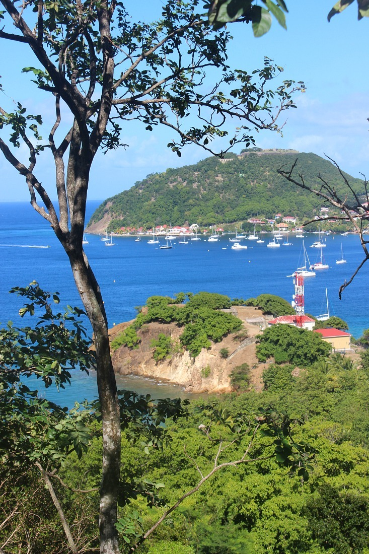 Beautiful island views on Les Saintes: The French Caribbean Islands that time forgot