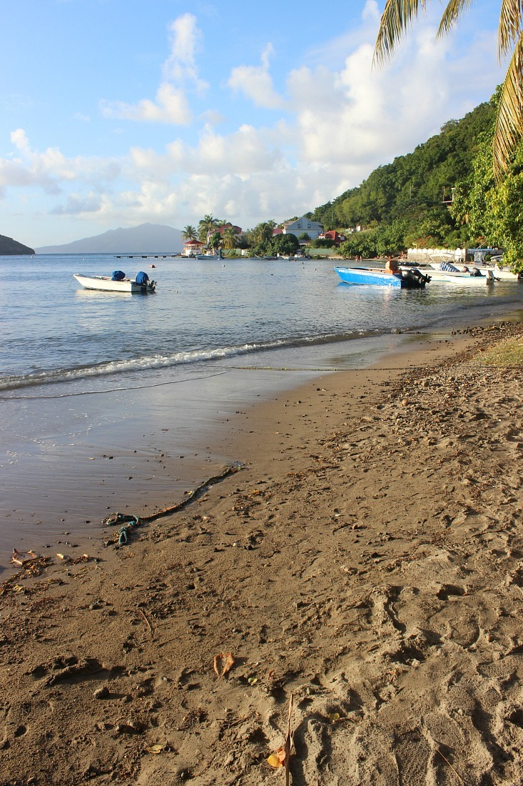 Anse bu Bourg beach on Les Saintes: The French Caribbean Islands that time forgot