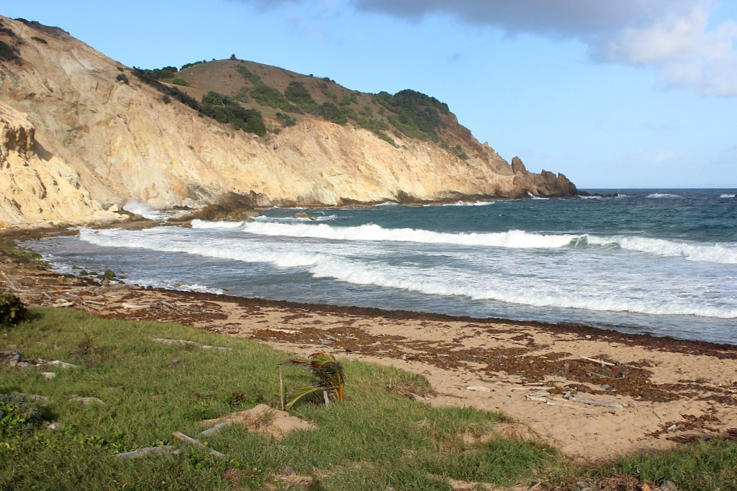 Wild Grand Anse beach on Les Saintes: The French Caribbean Islands that time forgot