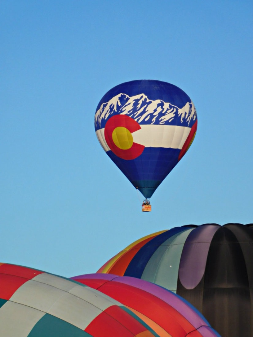 Attending the Albuquerque Balloon Festival during Month Twenty Eight of Digital Nomad Life