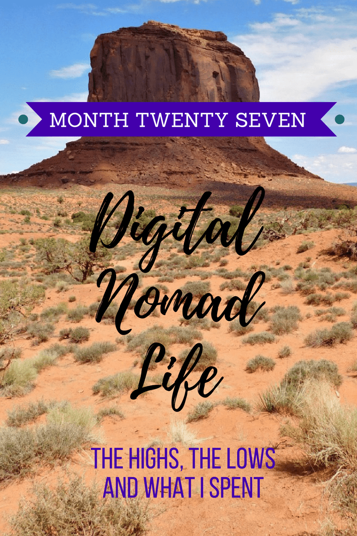 Digital Nomad Life Month 27