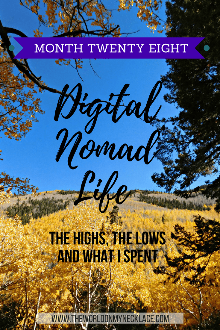 Digital Nomad Life: Month Twenty Eight
